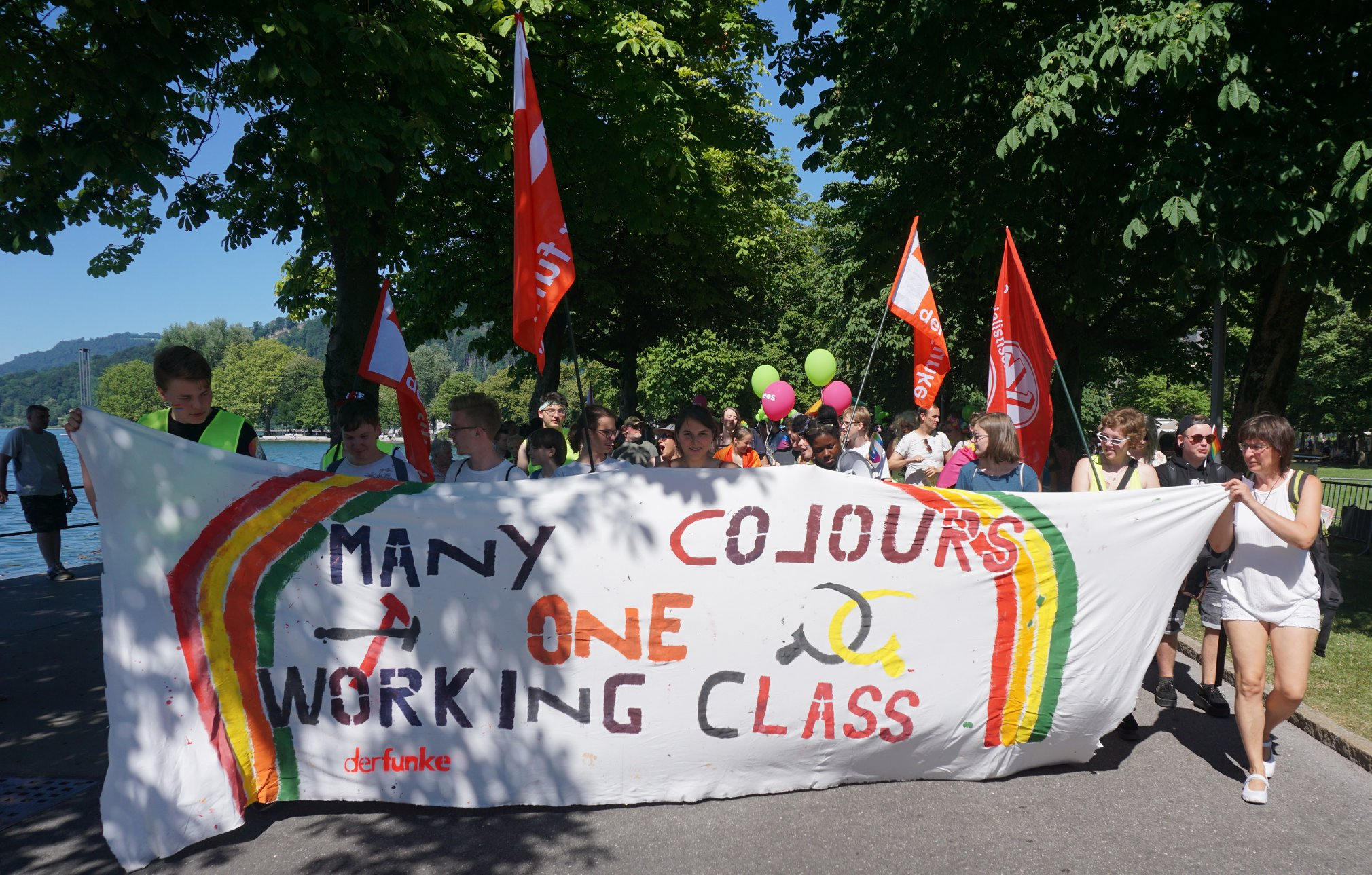 many colors one working class