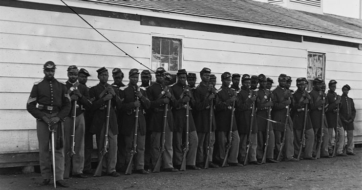 United States Colored Infantry 1865 publicdomain