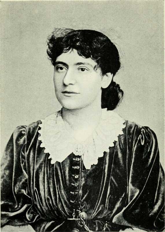 Mrs Eleanor Marx Aveling daughter of Karl Marx